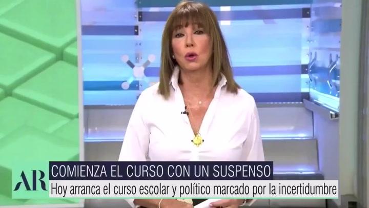Ana Rosa Quintana vuelve con un tremendo cambio de imagen y tira con bala
