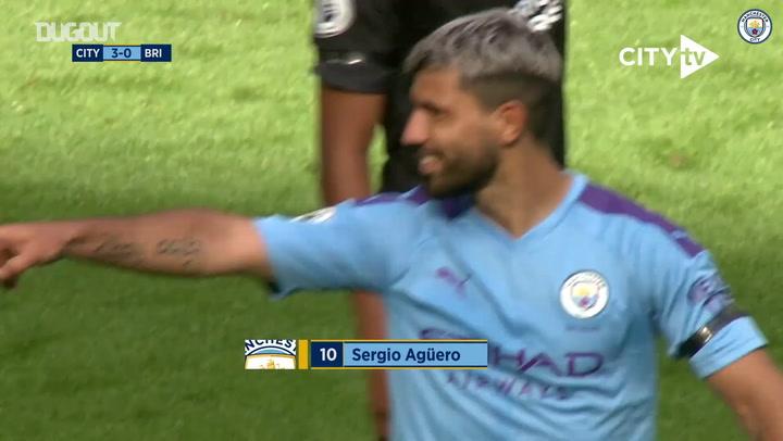 أهداف لا تصدق: سيرجيو أجويرو أمام برايتون