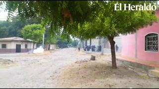 Disparos en desalojo de policía y un grupo de jóvenes en Marcovia