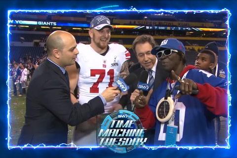 2012: Giants celebrate Super Bowl XLVI win with Flavor Flav