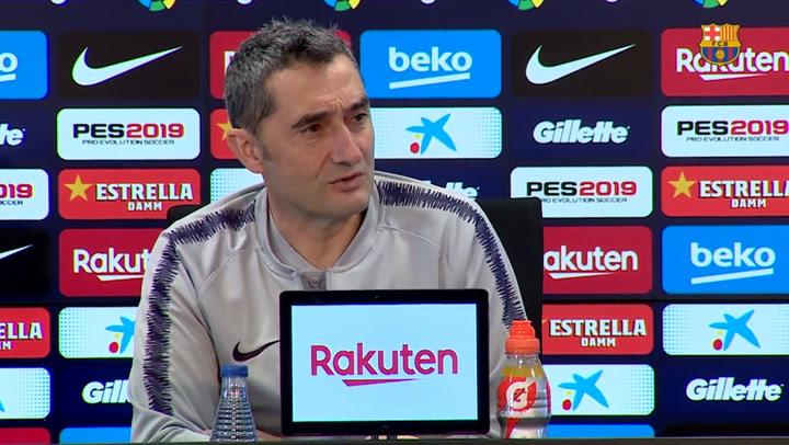 """Valverde: """"¿El United? Es una eliminatoria abierta, no somos favoritos"""""""