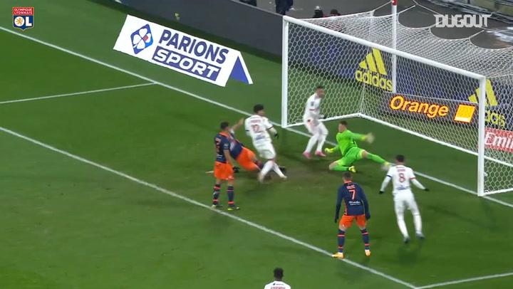 Lucas Paqueta's goal vs Montpellier