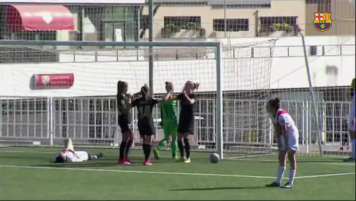 Resumen del Rayo Vallecano - Barça femenino (0-4)