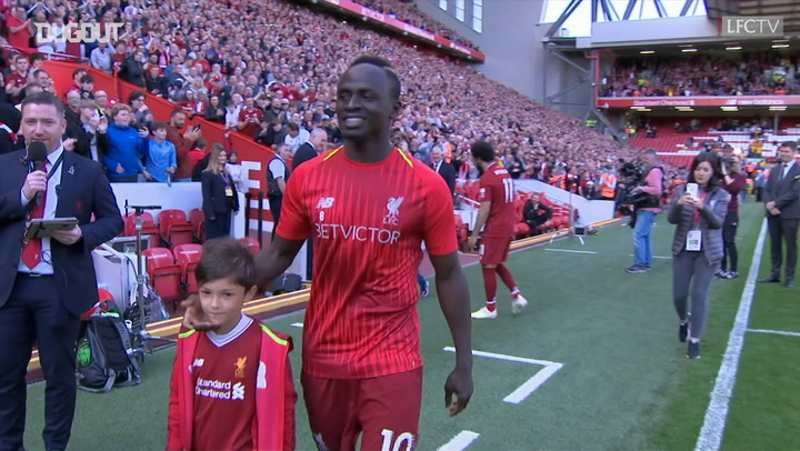 Sadio Mané And Mohamed Salah Receive Golden Boot Award