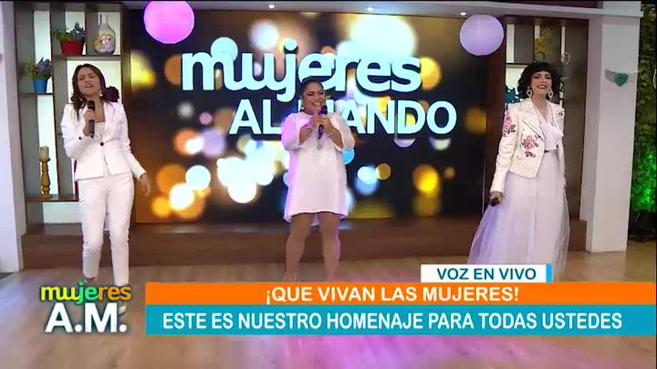 La India, Mon Laferte y Mirian Hernández de 'Yo Soy' graban canción por el Día de la Mujer
