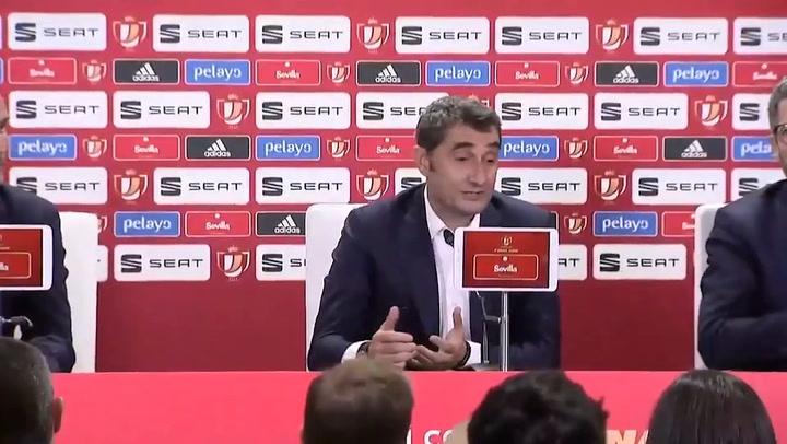 Ernesto Valverde, en declaraciones postpartido