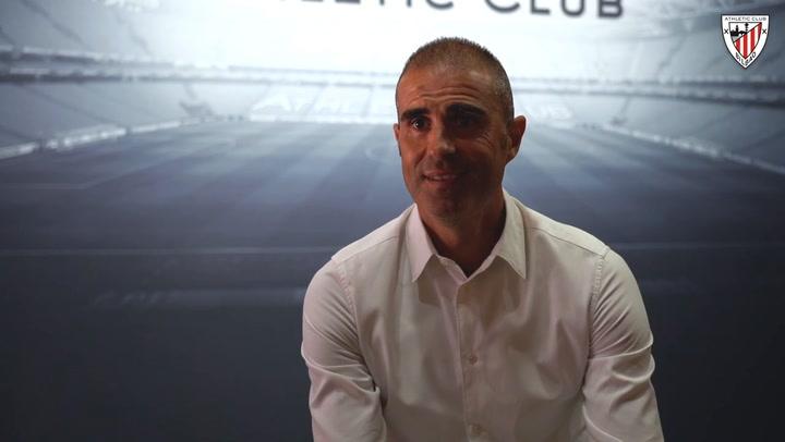 """Garitano tras su renovación: """"Es el equipo de mi corazón, es una alegría y una responsabilidad"""""""