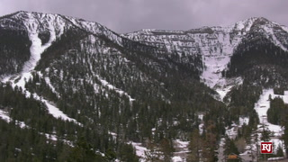 Snow, Wind Gusts In Mt. Charleston And Lee Canyon – Video