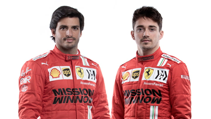 Presentación oficial del equipo Ferrari para 2021