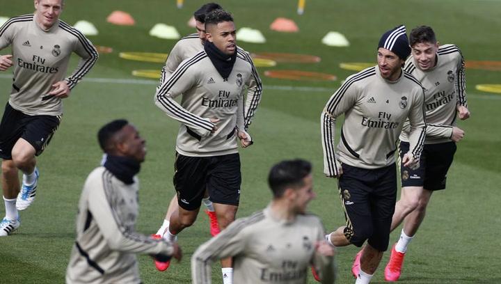 El Real Madrid comienza a preparar el partido contra el Éibar