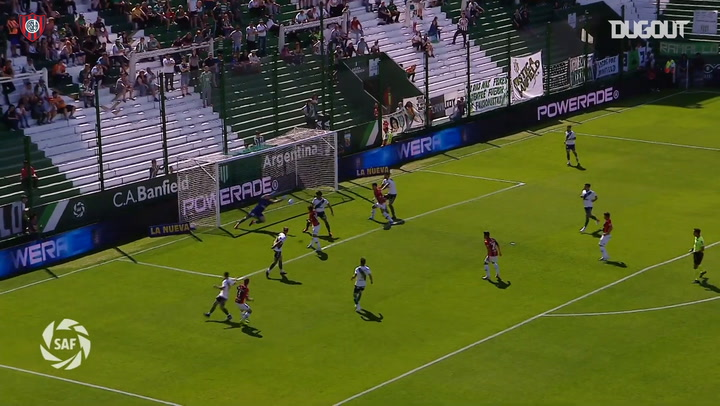 Bruno Pitton secures three points vs Banfield