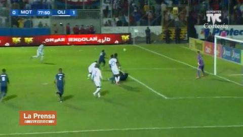 Olimpia abre el marcador ante Motagua con autogol de Juan Pablo Montes