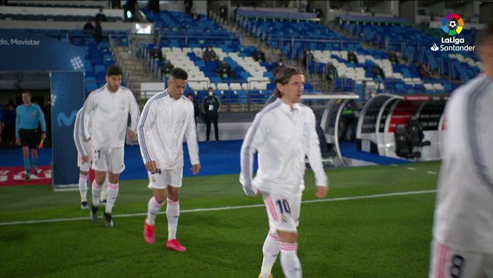 LaLiga Santander (J25): Resumen y goles del Real Madrid 1-1 Real Sociedad
