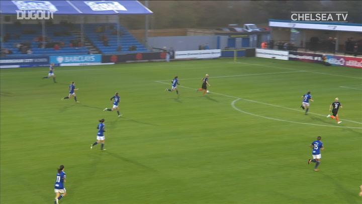 Millie Bright's incredible goal vs Birmingham City
