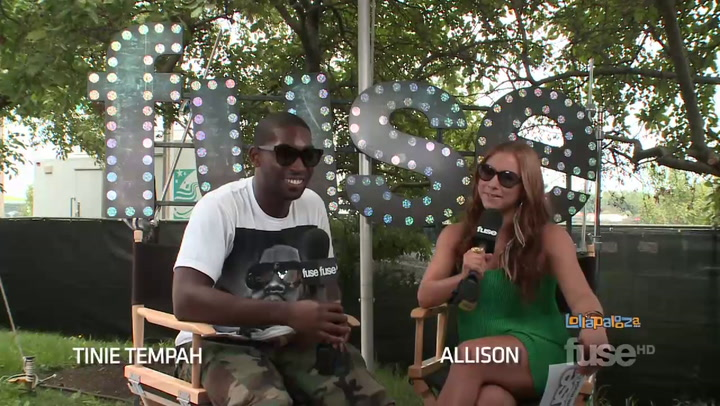 "Festivals:Lollapalooza: Tinie Tempah Reveals Festival ""Gang Beef"" - Lollapalooza 2011"