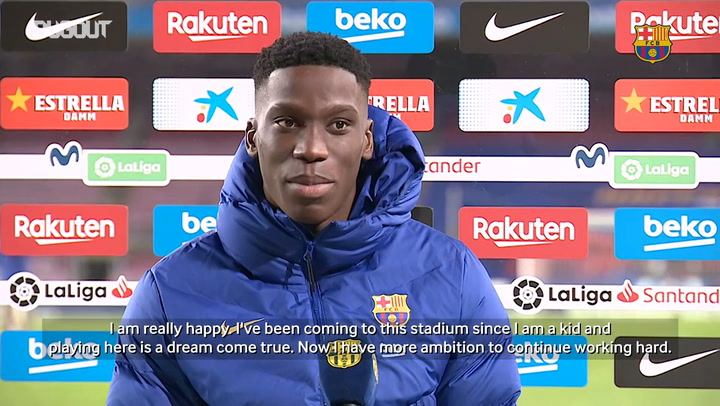 Ilaix Moriba: 'Playing alongside Leo Messi it's a dream come true'