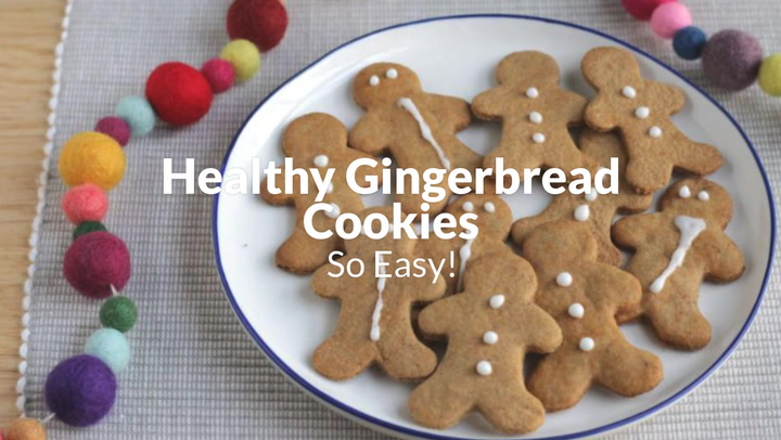 Easy Gingerbread Cookies Healthy So Good