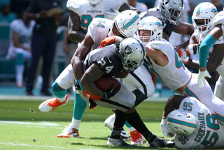 Vegas Nation: Raiders Drop to 0-3 with Loss to the Dolphins