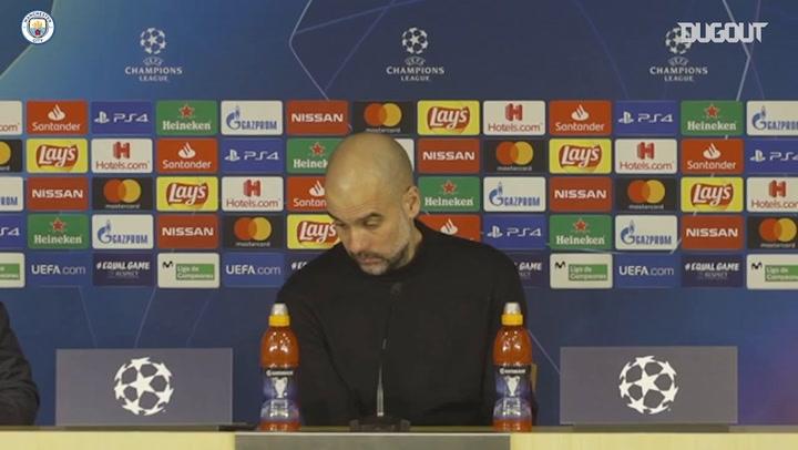 Pep Guardiola hài lòng về trận thắng Real Madrid