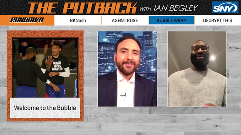 The Putback with Ian Begley: Kyle O'Quinn stops by the show