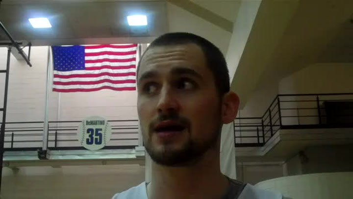 Kevin Love on the WBF