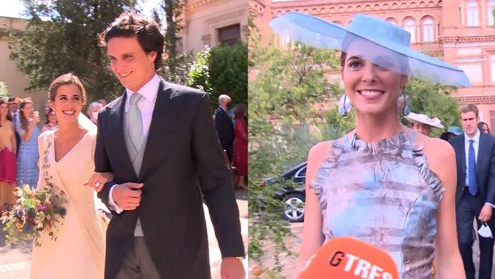 Belén Corsini, la condesa de Osorno, desvela algunos detalles de la boda de su hermana María y Diego Osorio