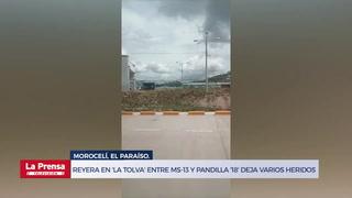 Reyera en 'La Tolva' entre MS-13 y pandilla '18' deja personas heridas