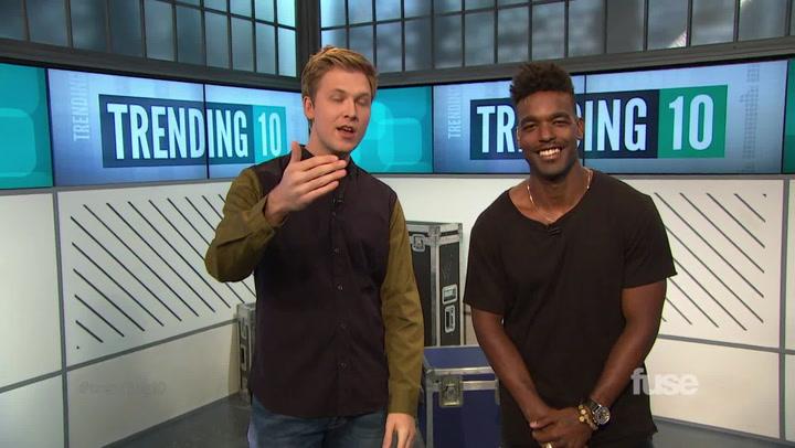 Shows: Trending 10: Luke James Walk-On (9/22/14)