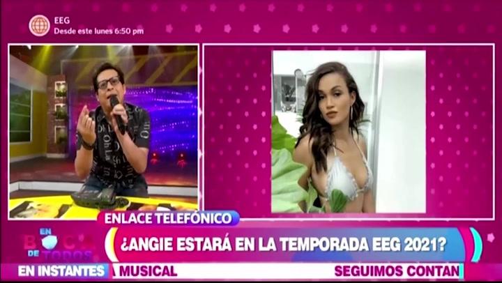 """Angie Arizaga no estará en la temporada 2021 de """"Esto es Guerra"""" por temas de salud"""