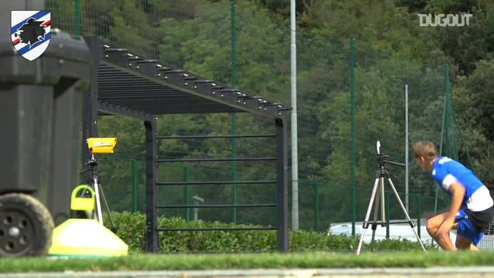 Sampdoria begin 2020-21 pre-season training