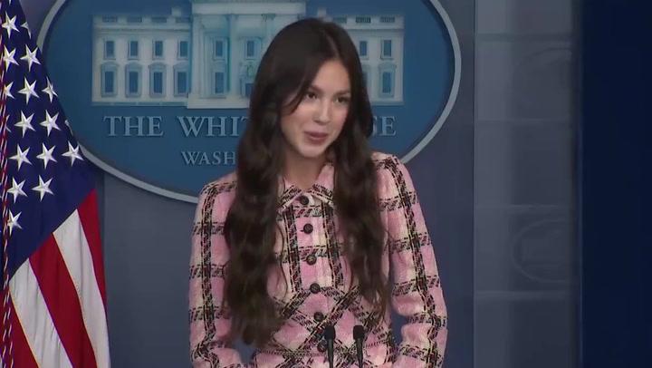 Olivia Rodrigo urges 'all communities' to get vaccine in White House statement