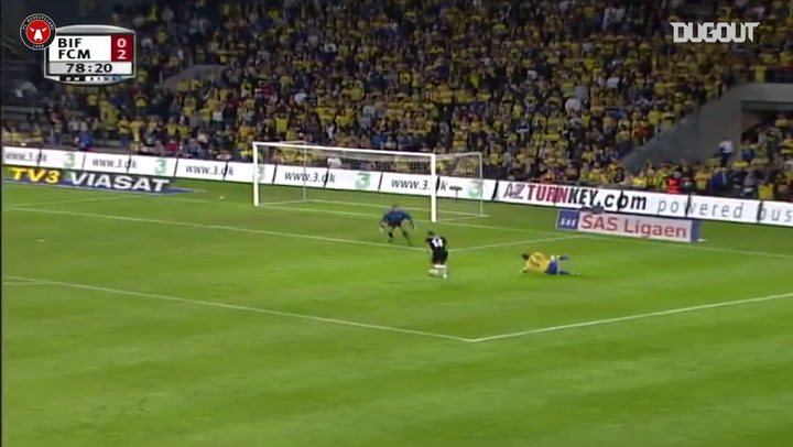 Mohamed Zidan shows great skills to down Brøndby