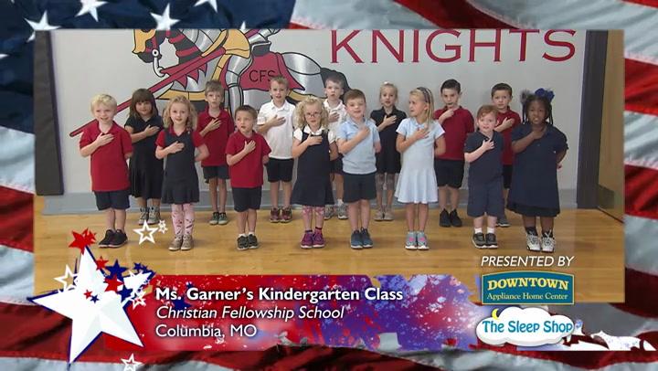 Christian Fellowship Academy - Mrs. Garner - Kindergarten