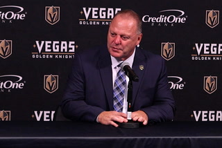 Golden Knights coach says it was a great game experience, despite the loss