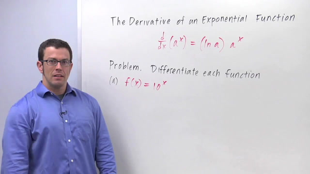 Derivatives of Exponential Functions - Problem 1
