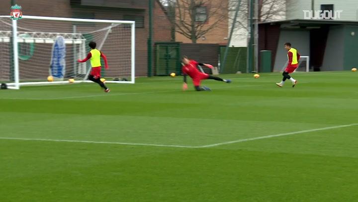 The Best Of Mohamed Salah In Training