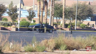 Las Vegas police investigating a homicide in northeast valley