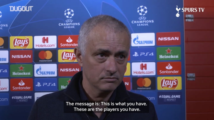 Mourinho: This is an incredibly unlucky season