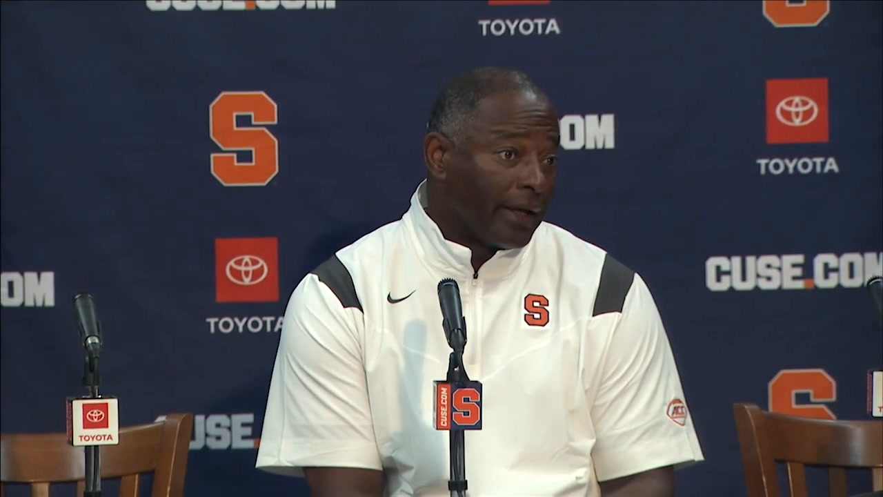 Babers Discusses Personal Foul