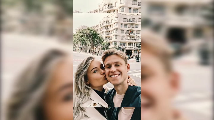 La pareja de De Jong, Mikky Kiemeney, sube un vídeo de sus primeros días en Barcelona