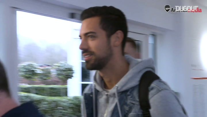 Behind The Scenes: Pablo Marí's first day at Arsenal