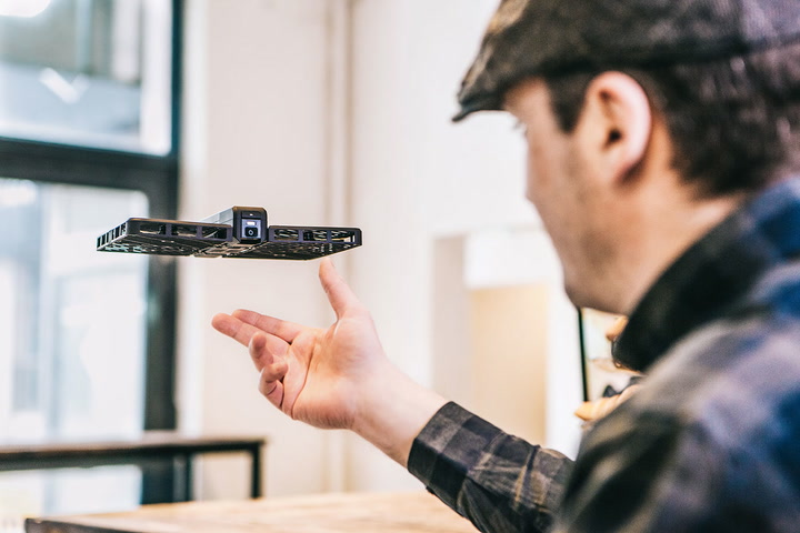 Hover Is A Book Shaped Selfie Drone You Just Unfold And Toss In The Air