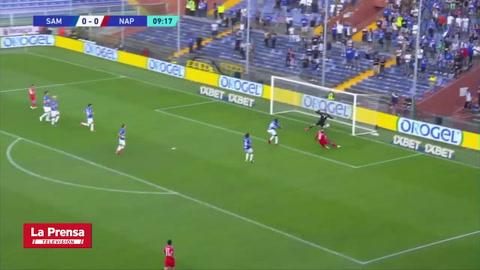 Sampdoria 0-4 Napoli (Serie A)