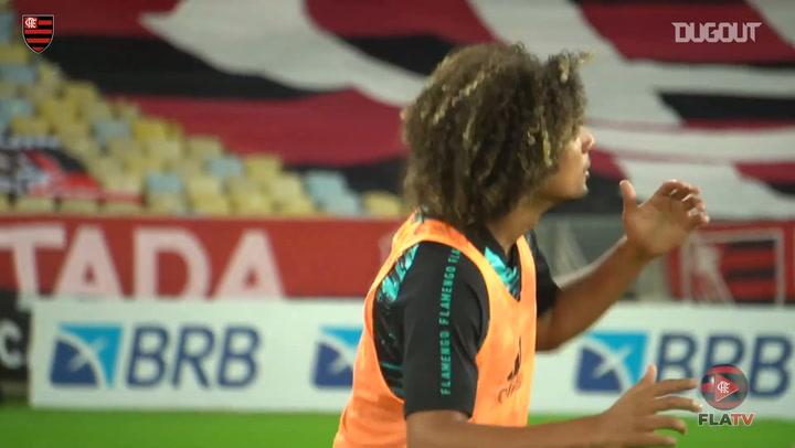 Behind the scenes: Flamengo lift 2020 Carioca title