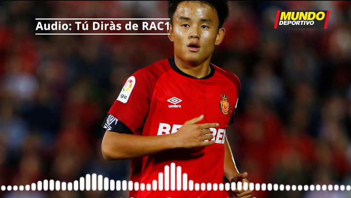 Take Kubo habla sobre los pitos recibidos en el Camp Nou
