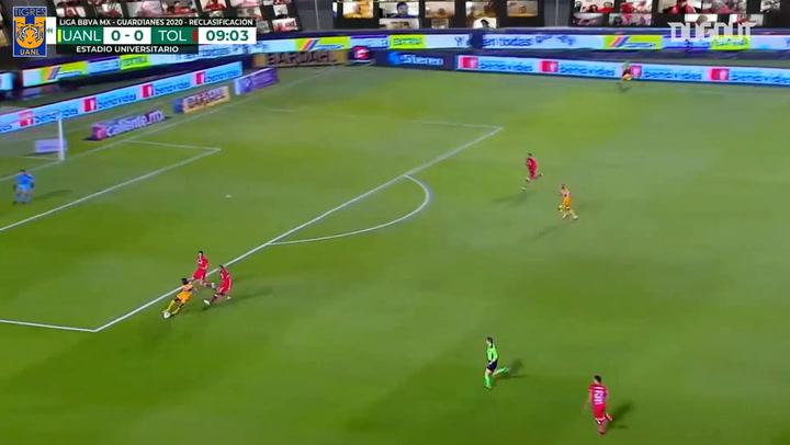 Tigres's decisive 2-1 win vs Toluca