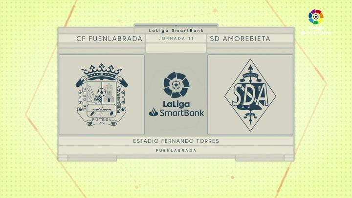 Resumen 90' CF Fuenlabrada - SD Amorebieta J11