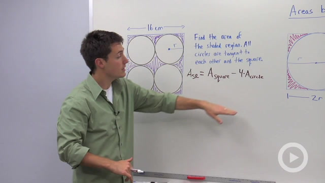 Regions Between Circles and Squares - Problem 1