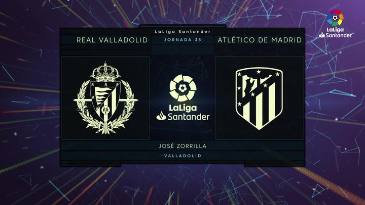 LaLiga Santander (J38): Resumen y goles del Valladolid 1-2 Atlético de Madrid