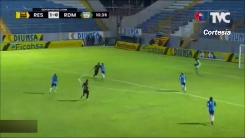Gol de Darixon Vuelto al Real De Minas (Liga Salva Vida)